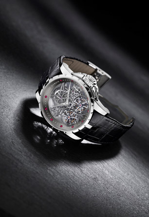 Roger Dubuis Excalibur Double Tourbillon Skeleton