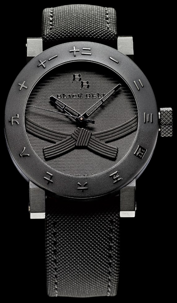 Yvan Arpa black bel twatch
