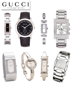 Gucci watch collection