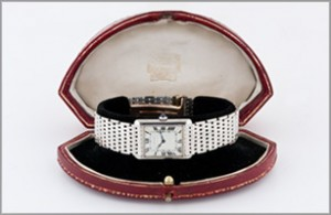 Louis Cartier men's watch which sold for $135,000
