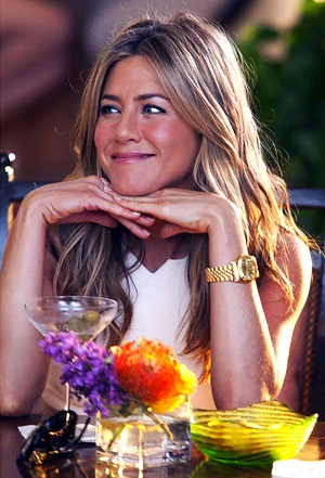 Jennifer Aniston's Yellow Gold Rolex Datejust