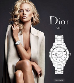 Charlize Theron wears Christion Dior VII
