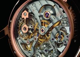 The Girard-Perregaux 1966 Minute Repeater's movement.
